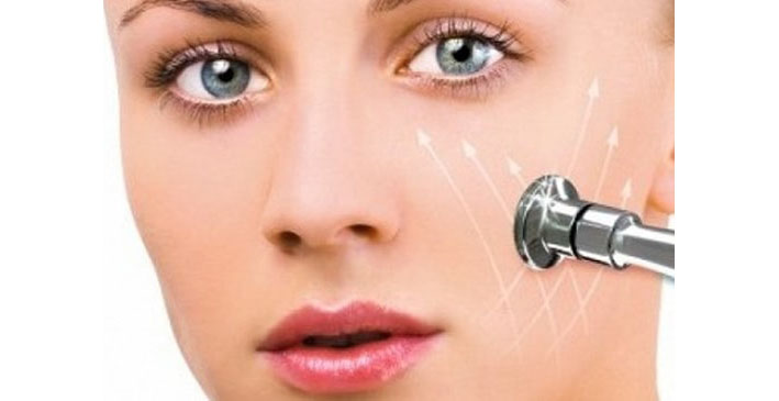 процедура алмазной чистки лица
