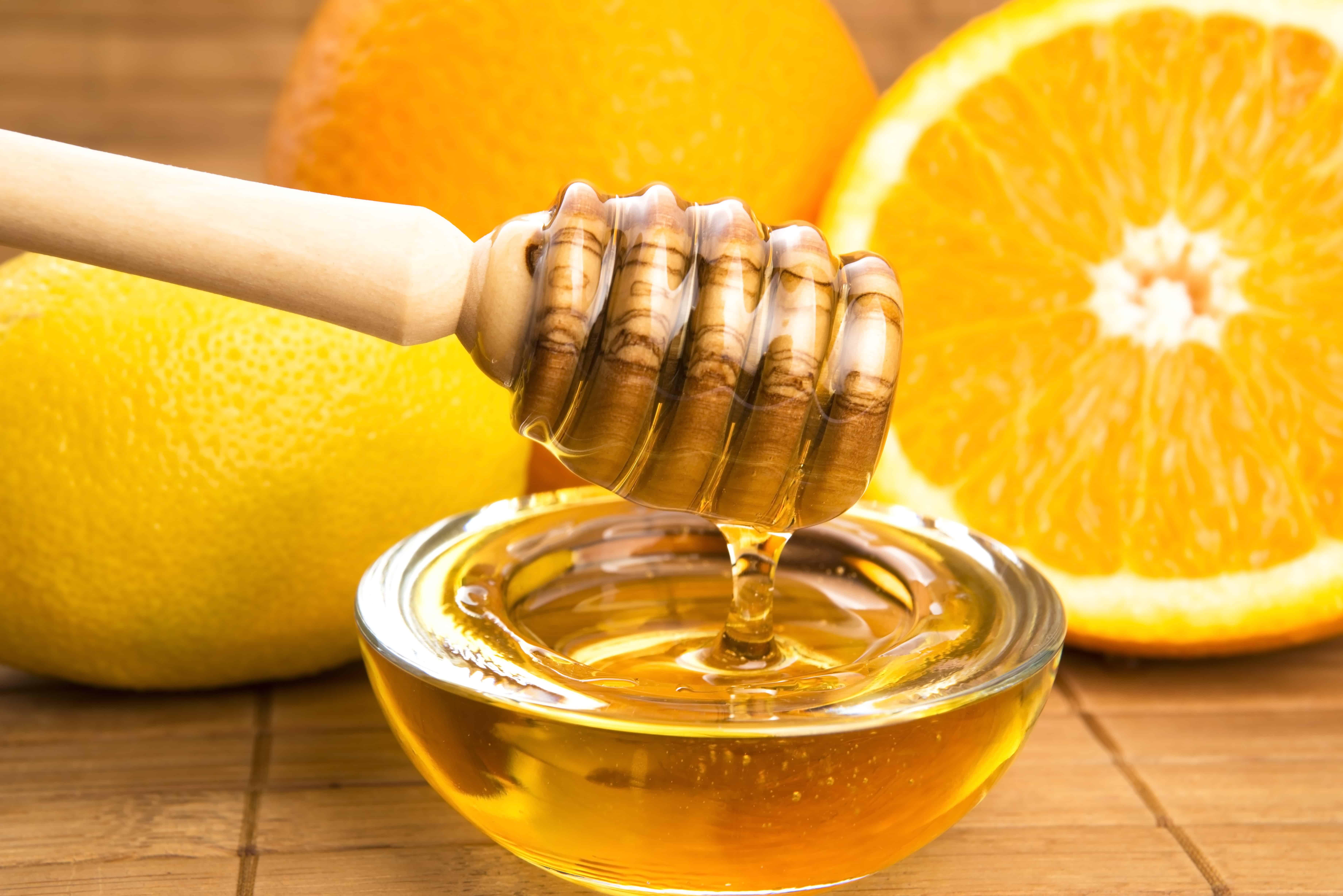 рецепт фруктового пилинга с лимоном и медом
