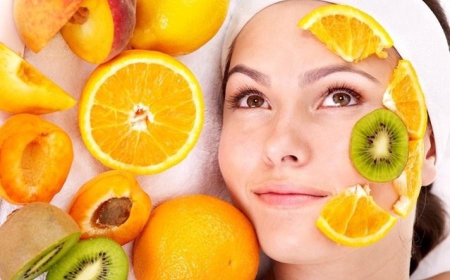 маска пилинг для лица с фруктовыми кислотами