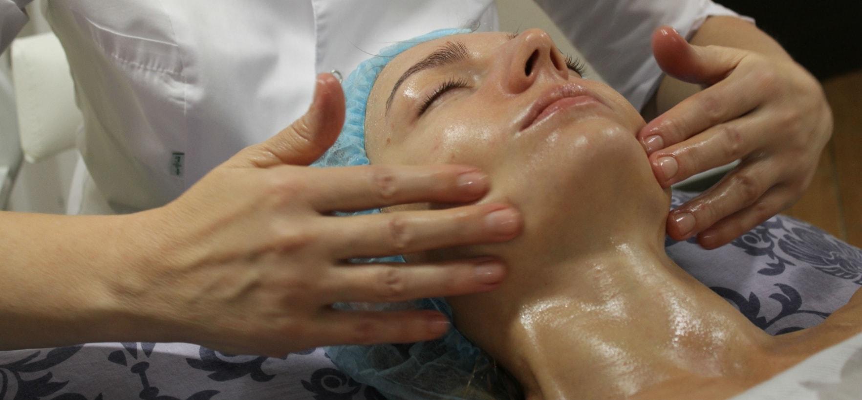 Скульптурный лица массаж фото пошагово