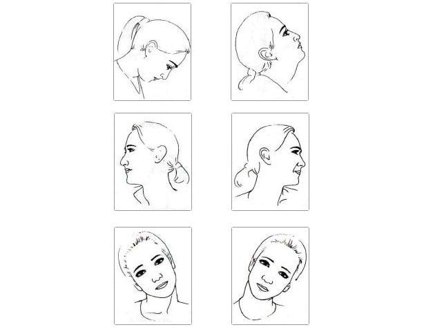 Разминка для шеи – первый этап в выполнении методики Евы Фрейзер